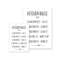 thumb-Keuken poster Kitchen Rules-4