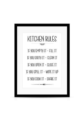Lievespulletjes Keuken poster Kitchen Rules