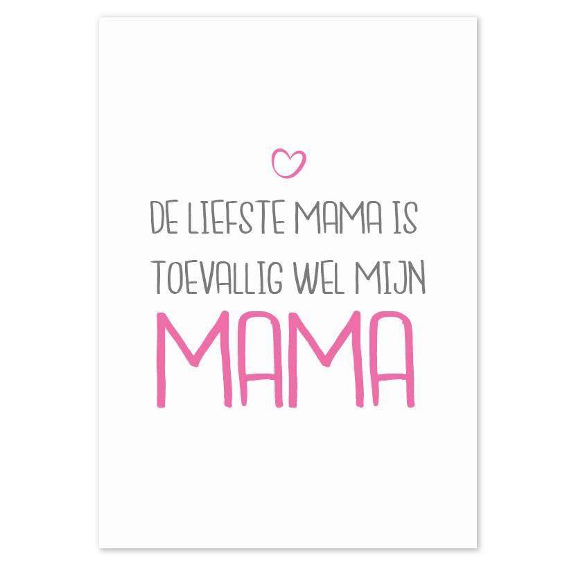 Posters voor mama's