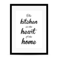 thumb-Keuken poster The kitchen  is the heart of the home-3