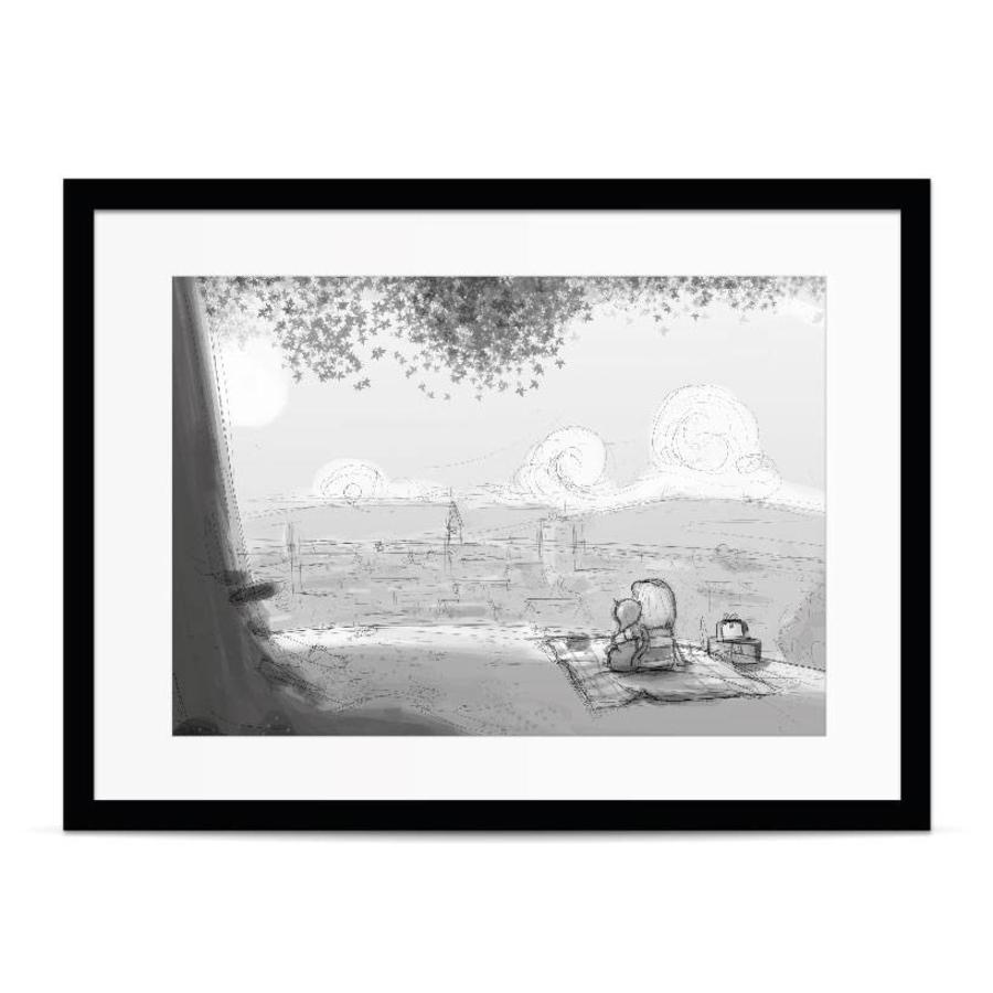Roy Korpel original: schets uitzicht-3