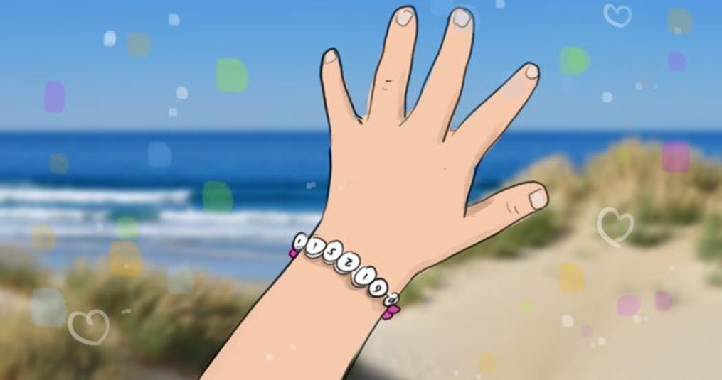 SOS-armbandje: ontspannen op stap met je kind!