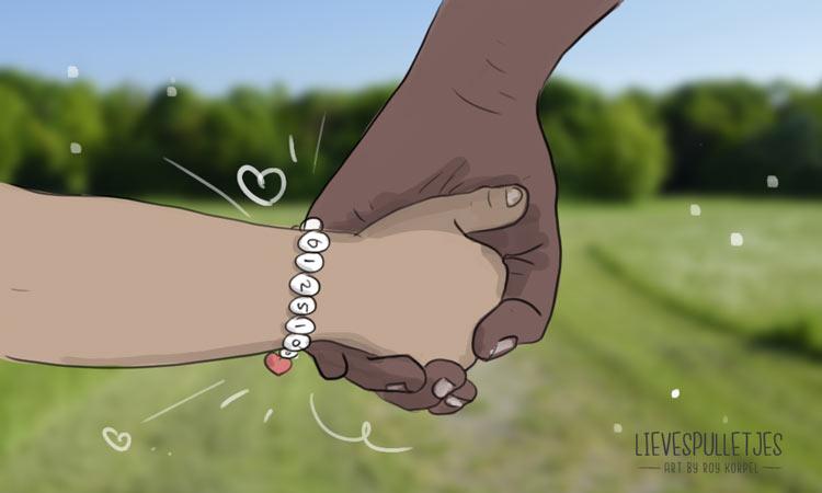 kind kwijt tip 2 lievespulletjes sos armband