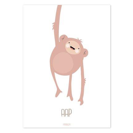 Lieve posters met dieren voor de baby of kinderkamer