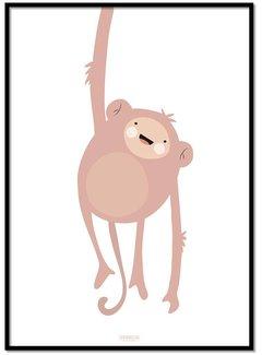 Lievespulletjes Poster ondeugend aapje