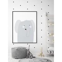 thumb-Poster babykamer olifantje-4