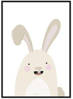 Lievespulletjes Poster konijntje