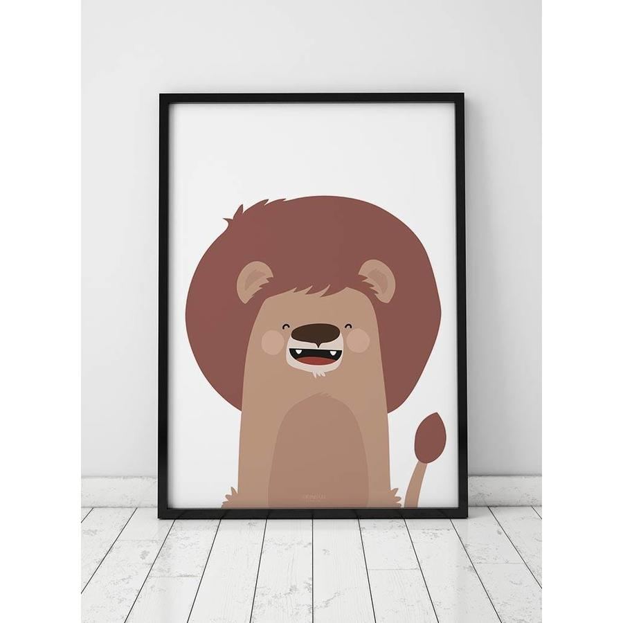Poster kinderkamer leeuw-3