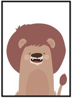 Lievespulletjes Poster leeuw