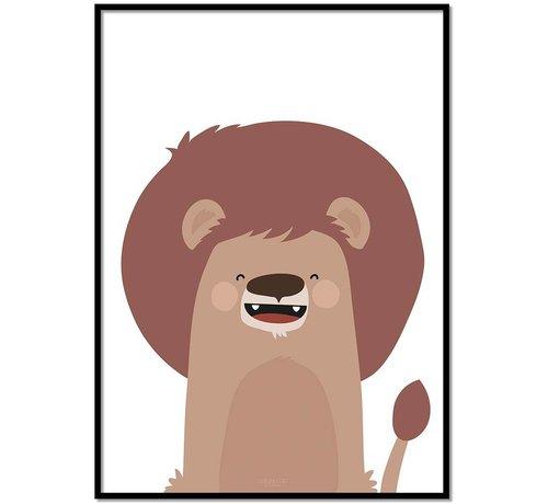 Lievespulletjes Poster kinderkamer leeuw
