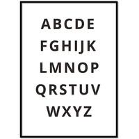 thumb-Alfabet poster - zwart wit-1