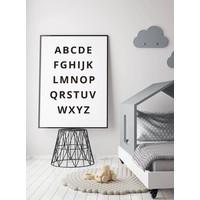 thumb-Alfabet poster - zwart wit-2
