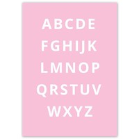 thumb-Alfabet poster - roze-3