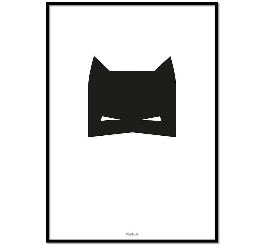 Poster kinderkamer: superheld jongen