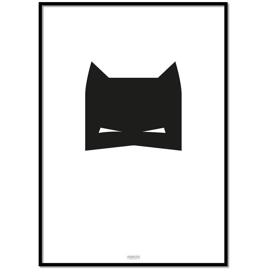 Poster kinderkamer: superheld jongen-1