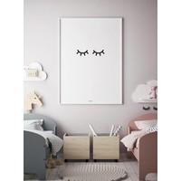 thumb-Poster kinderkamer: oogjes dicht-2