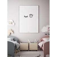 thumb-Poster kinderkamer: kiekeboe-2