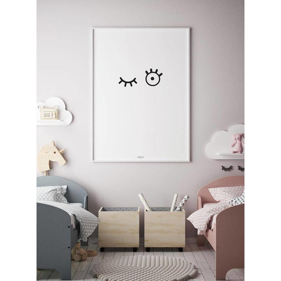 Poster kinderkamer: kiekeboe-2