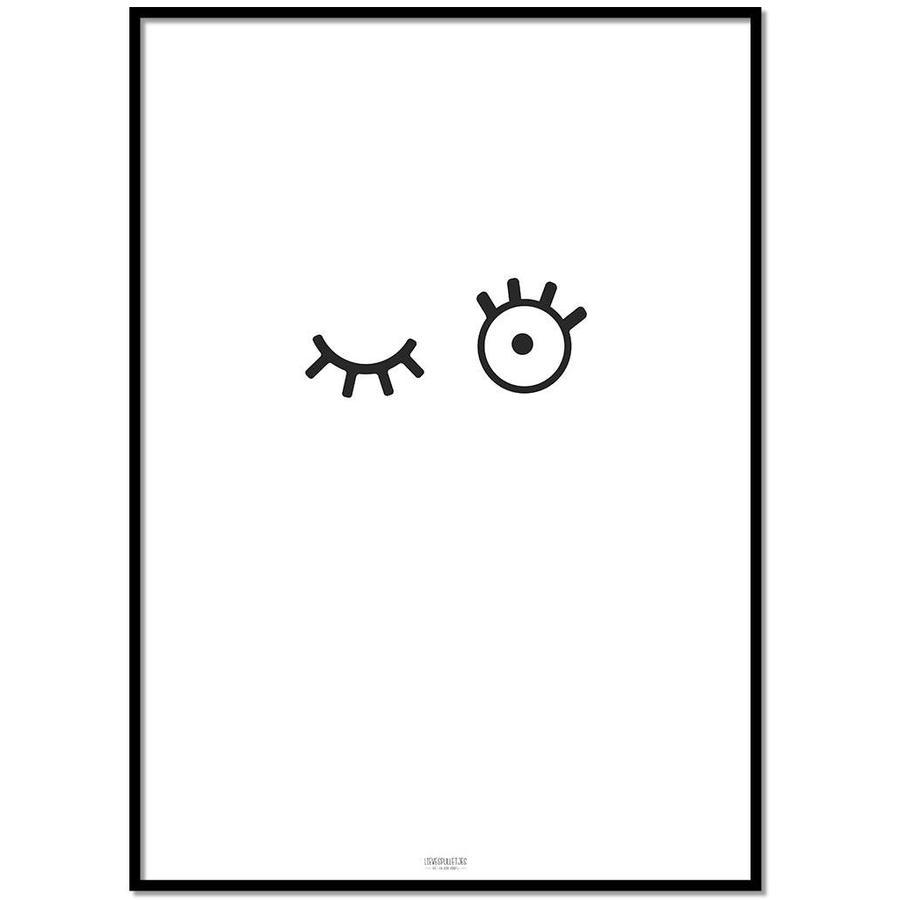Poster kinderkamer: kiekeboe-1