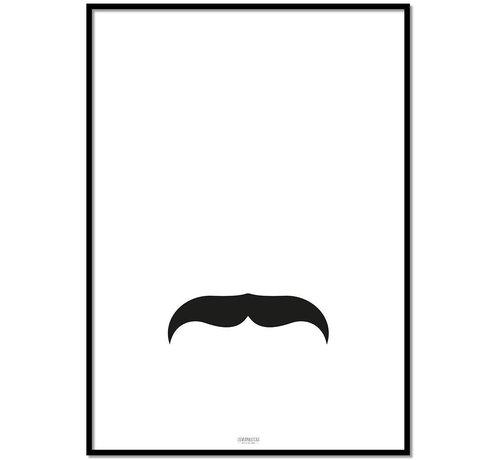 Lievespulletjes Poster kinderkamer: mustache