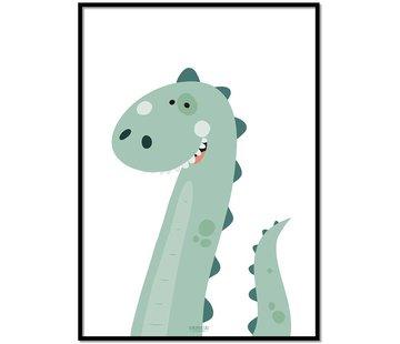 Lievespulletjes Poster dinosaurus
