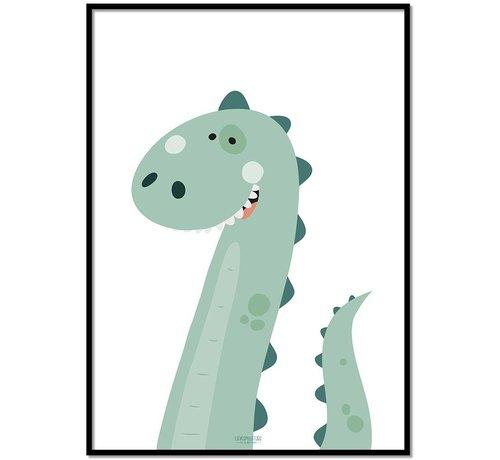 Lievespulletjes Poster kinderkamer dinosaurus