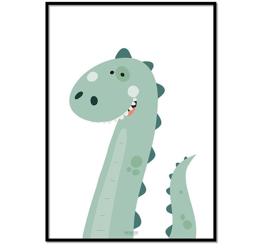 Poster kinderkamer dinosaurus
