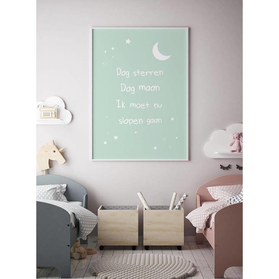 Poster dag sterren dag maan mint-4