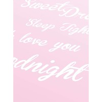 thumb-Poster Sweet Dreams Sleep Tight We Love You Goodnight roze-3