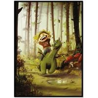 thumb-Roy Korpel original: draakje en zijn vriendje-1