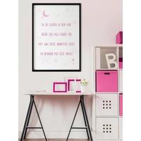 thumb-Poster christelijk kindergebed ik ga slapen ik ben moe nr2-2
