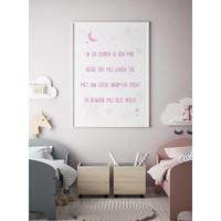 thumb-Poster christelijk kindergebed ik ga slapen ik ben moe nr2-4
