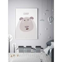 thumb-Poster kinderkamer schaap met tekst-2