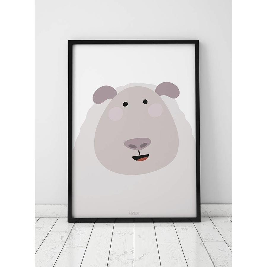 Poster kinderkamer schaap-4