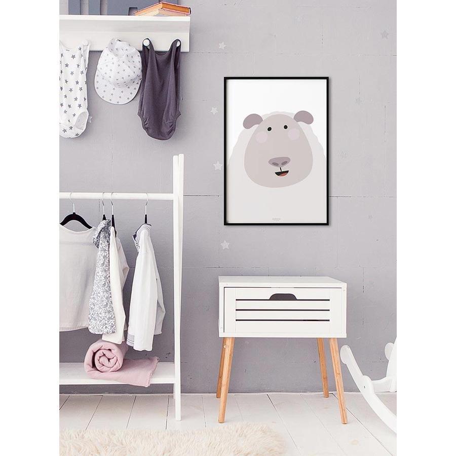 Poster kinderkamer schaap-2