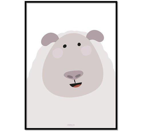 Lievespulletjes Poster kinderkamer schaap
