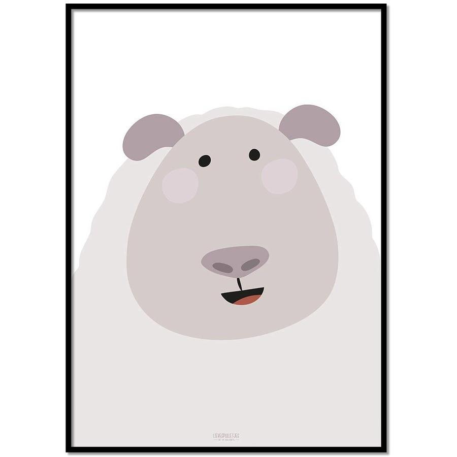 Poster kinderkamer schaap-1