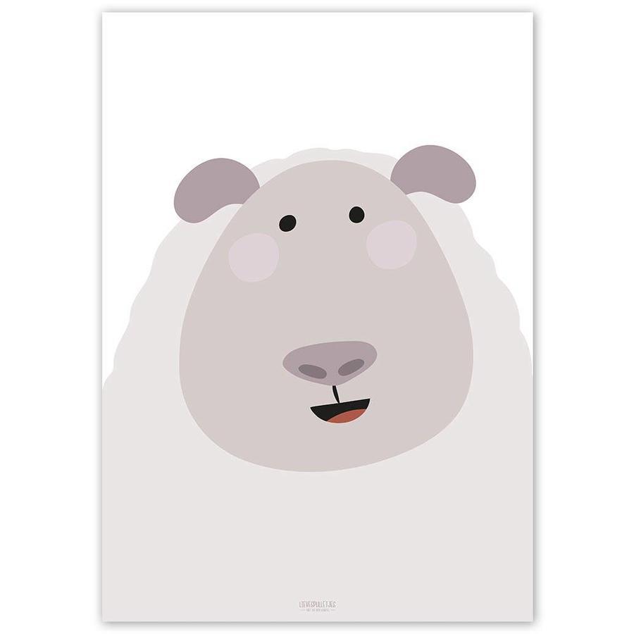 Poster kinderkamer schaap-5