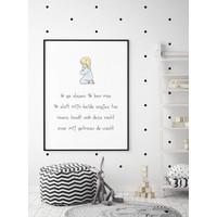 thumb-Poster christelijk kindergebed ik ga slapen ik ben moe-2