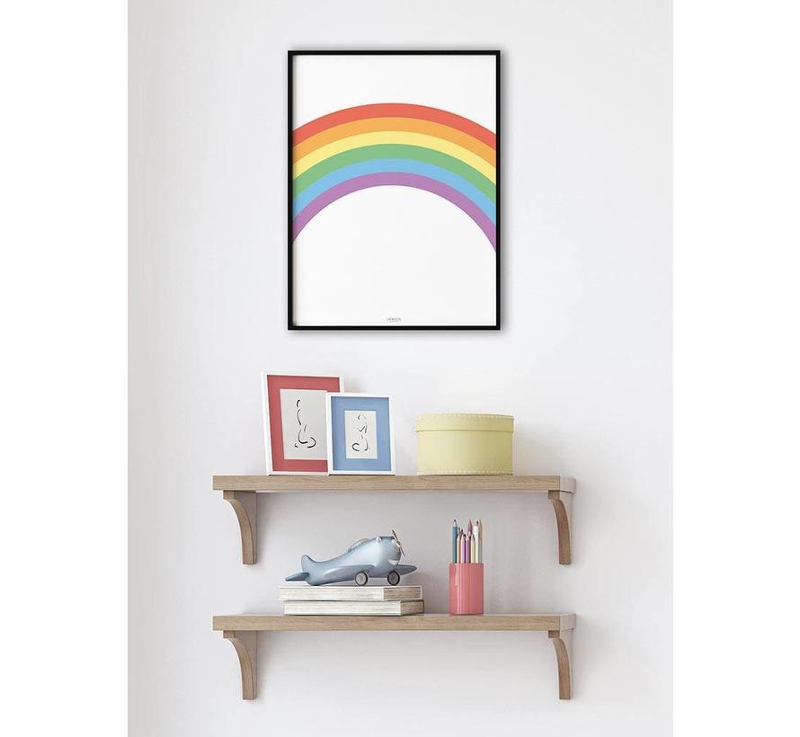 Poster kinderkamer regenboog