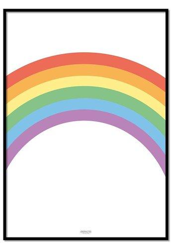 Poster regenboog