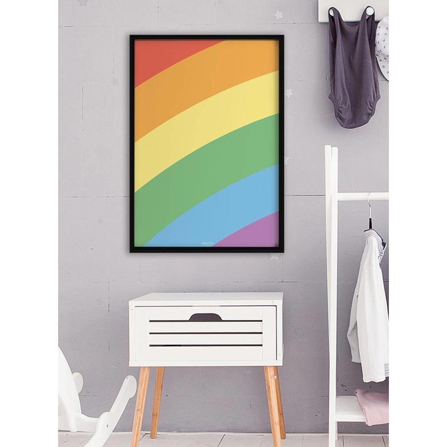 Poster kinderkamer regenboog-5