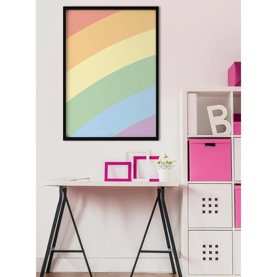 Poster kinderkamer regenboog-2