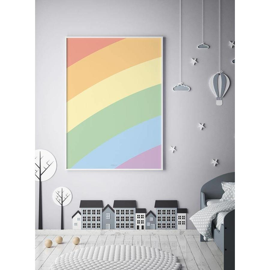 Poster kinderkamer regenboog-3