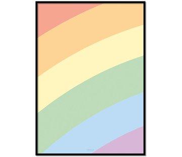 Lievespulletjes Poster kinderkamer regenboog
