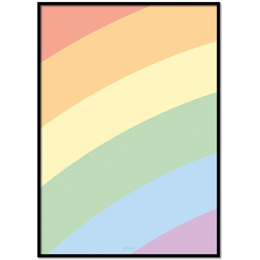 Poster kinderkamer regenboog-1