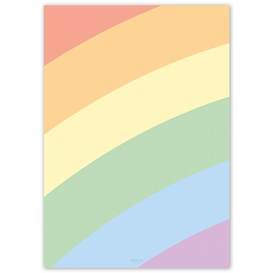 Poster kinderkamer regenboog-4