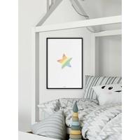 thumb-Poster kinderkamer regenboog ster-4
