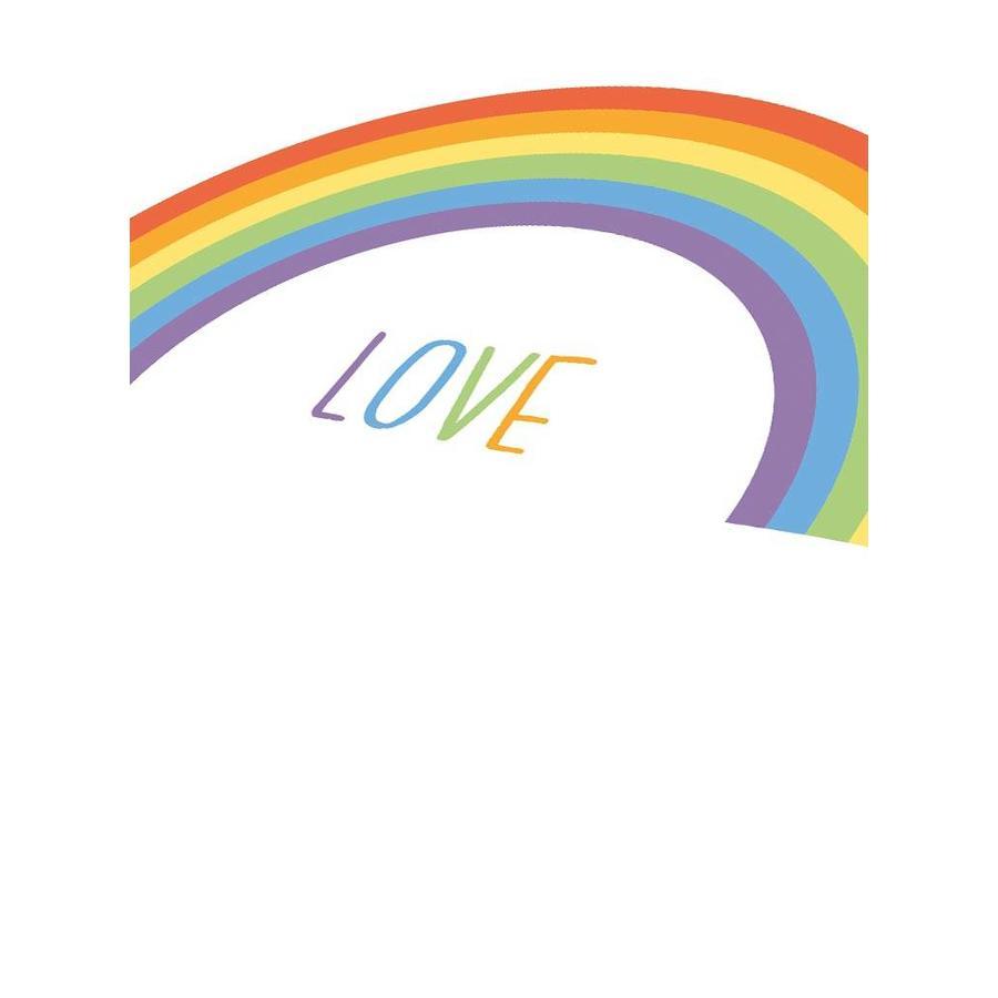 Poster kinderkamer regenboog love-3