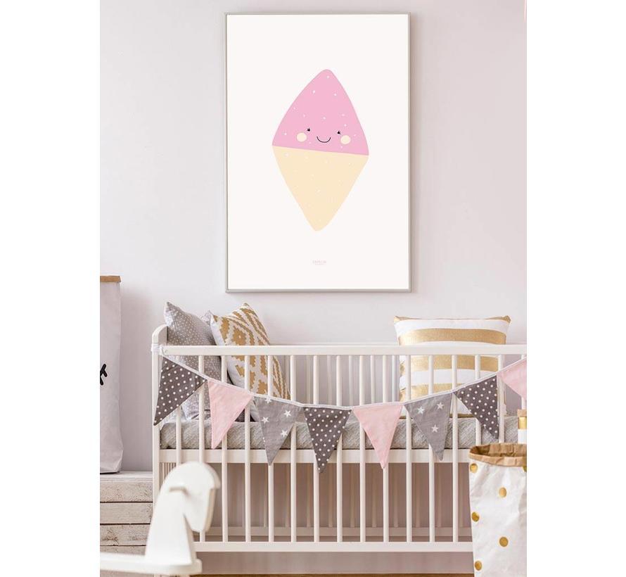 Poster babykamer spekkie